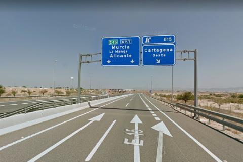 AP-7 Alicante-Cartagena