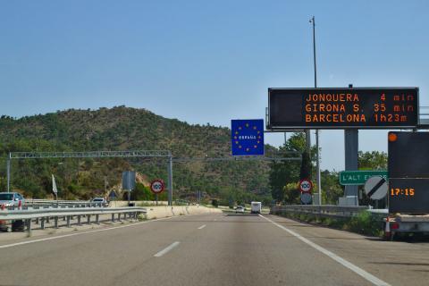 AP-7 Barcelona-La Jonquera