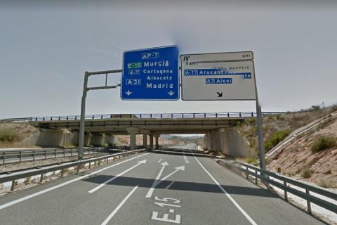 AP-7 Circunvalación Alicante