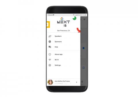 App Google Cloud Next 2018