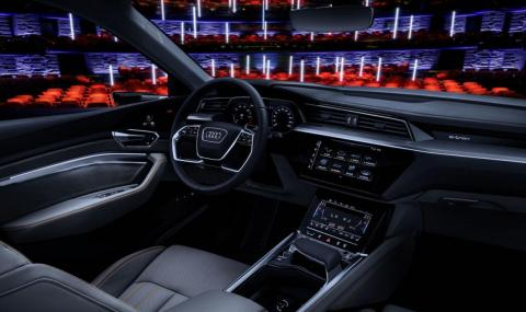 Audi's 2020 E-Tron cabin will combine luxury with technology.