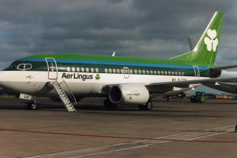 Avión de Air Lingus