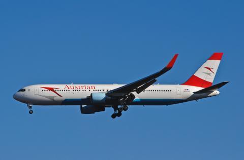 Avión de Austrian Airlines