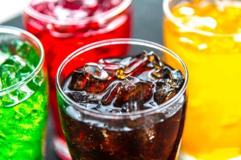 Bebidas con colorante
