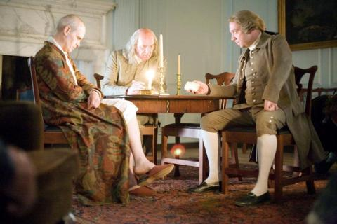 28. 'John Adams' (2008), miniserie