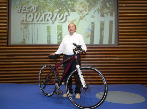Fernando Irujo, ganador de la segunda edición de las Becas Aquarius.