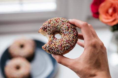 Bollería industrial: donut