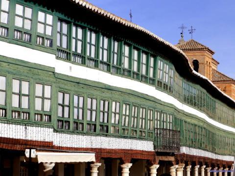 Paisaje de la provincia de Ciudad Real.