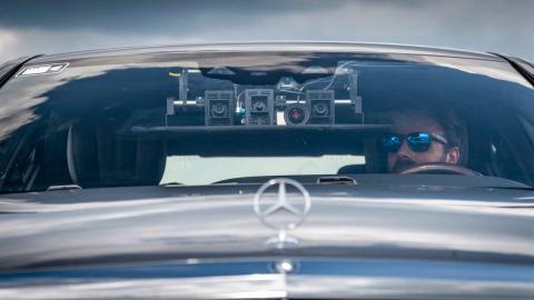Coche autónomo de Mercedes