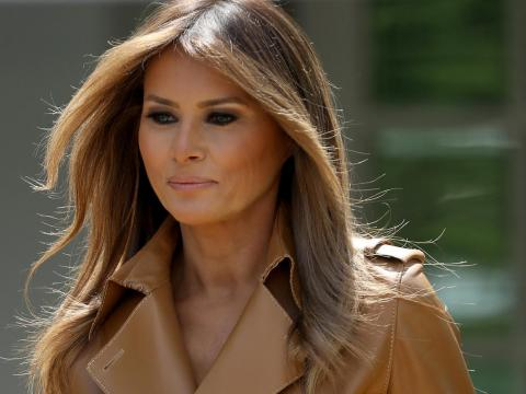 "To complete her look, Melania has her own makeup artist, Nicole Bryl, who told US Weekly of Melania's plans to have a ""glam room"" in the White House. She also has a hairstylist who makes house calls and travels with her."