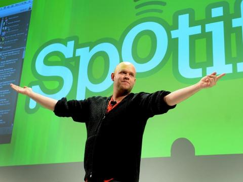 Daniel Ek is a co-founder and CEO of Spotify, which went public in April.