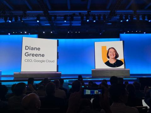 Diane Greene, CEO Google Cloud.
