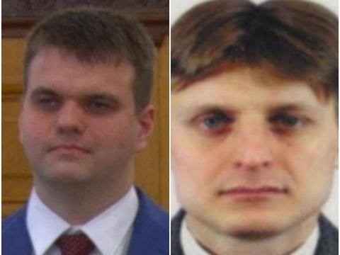Dmitry Aleksandrovich Dokuchaev (left) and Igor Anatolyevich Sushchin (right).