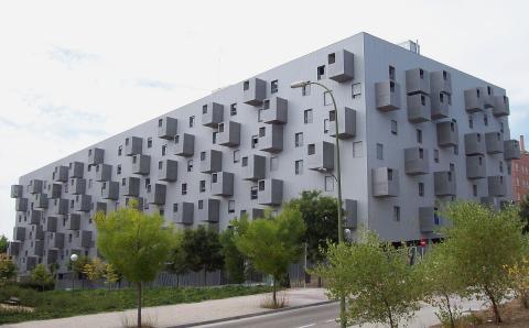 Edificio de Carabanchel, Madrid