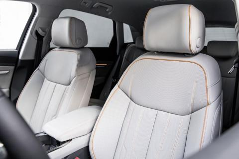 The electric-SUV comfortably seats five passengers.