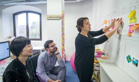 Emprendedores, innovación, startup, Barcelona, Pier 01, Barcelona Tech City