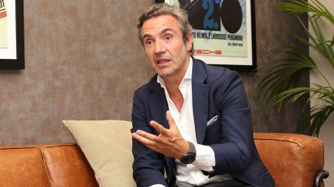 Tomás Villén, CEO de Porsche Ibérica
