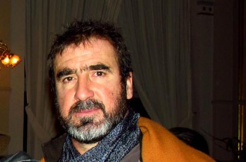 Eric Cantona en 2014. El exfutbolista, declarado 'nuevo icono gay' en los años 90, ha seguido utilizando su imagen en cine y publicidad.