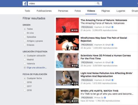 facebook alternativa youtube