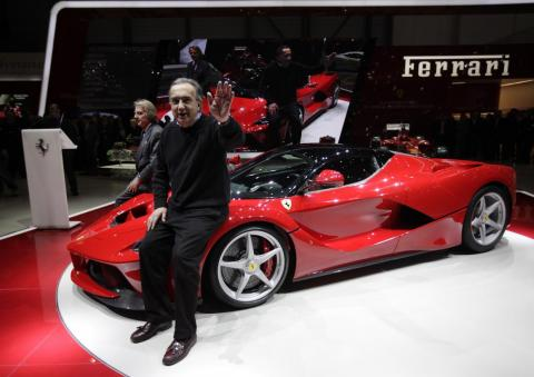 FCA and Ferrari CEO Sergio Marchionne.