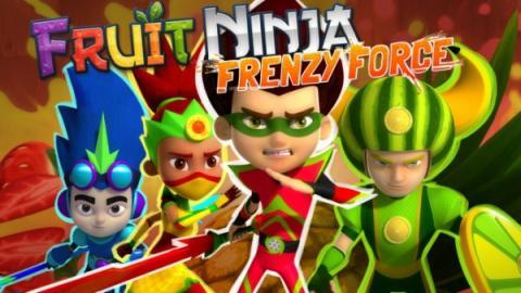 Cartel de Fruit Ninja