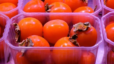 frutas envase, plástico