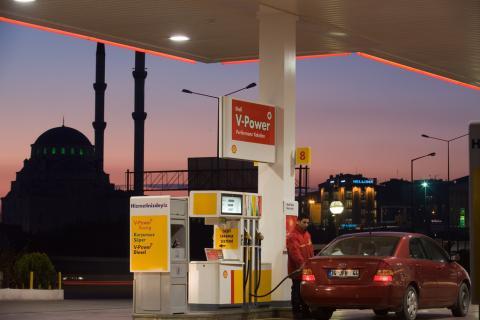 Gasolinera Shell en Turquía