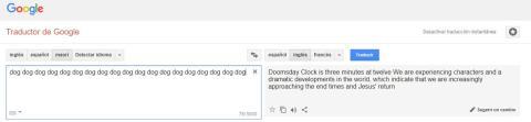 Google se pone la sotana y predice el final de los tiempos