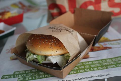 Hamburguesa del McDonalds España