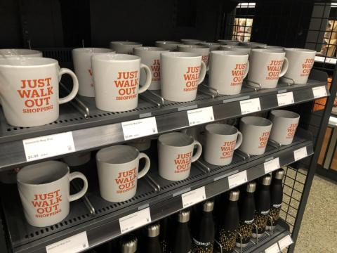 If you're dying to buy a souvenir, there are mugs ...