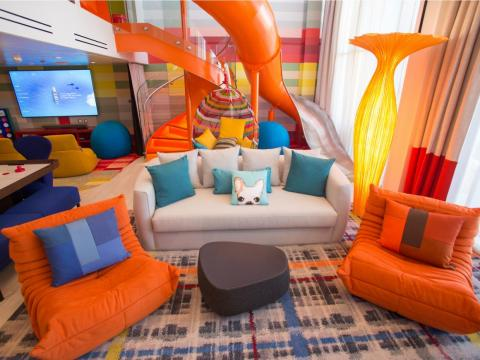 Including the Ultimate Family Suite, which can cost over $60,000, depending on the cruise.