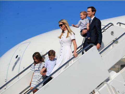 Ivanka Trump's and husband Jared Kushner's combined assets are worth at least $207 million, but could exceed $762 million, according to the documents.