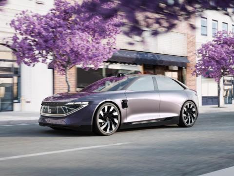El interior del K-Byte se parecerá al del concepto SUV M-Byte.
