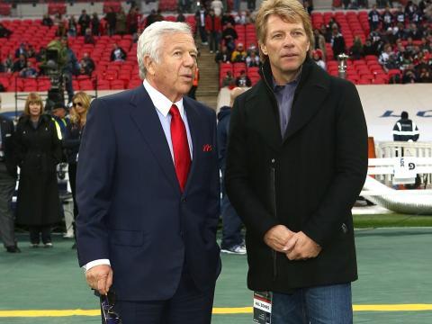Kraft es amigo íntimo de Jon Bon Jovi