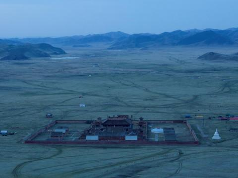 Located in the seemingly endless grasslands of northern Mongolia, the monastery is struggling to attract and retain students.