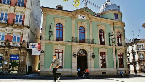 Una imagen del círculo de las Artes en Lugo.