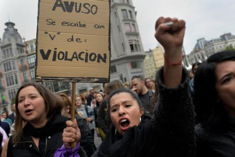 Manifestaciones contra la sentencia a La Manada