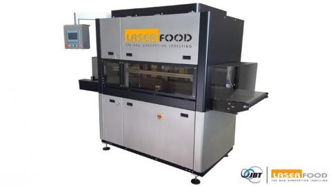 Una de las máquinas de Laserfood.