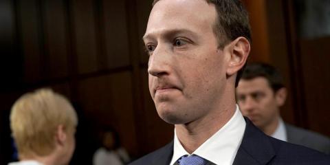 El cofundador y CEO de Facebook  Mark Zuckerberg.