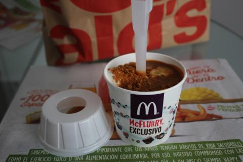 McFlurry en el McDonalds