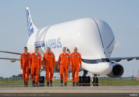 Nuevo avión de Airbus: el Beluga XL