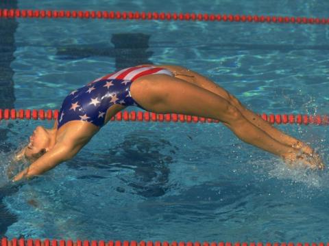 Olympian Dara Torres has won 12 swimming medals for Team USA, including four golds. Like so many of the other exercise pros we've talked to, Torres loves the core-boosting benefits of a good plank.