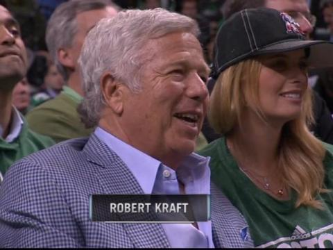 La pareja acude a muchos eventos deportivos, como partidos de los Celtics