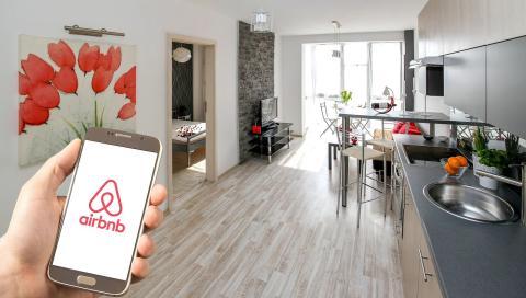 Un piso de Airbnb