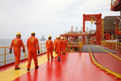Plataforma petrolífera de ENI