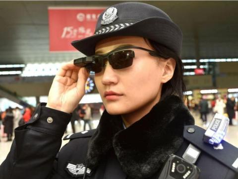 Policía china tecnología de vigilancia