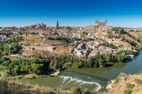 Vista de la provincia de Toledo.