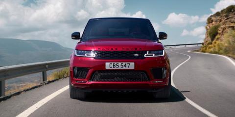 The Range Rover Sport Dynamic, a Jaguar Land Rover car.