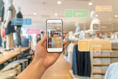 """Las aplicaciones de Realidad Aumentada servirán para """"reforzar la decisión de compra""""."""