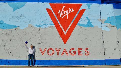 Richard Branson Virgin Voyages